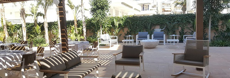 ZONA CHILL OUT Hotel Casa Vilella Sitges